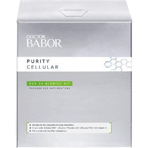 BABOR Gesichtspflege Doctor BABOR Purity Cellular Blemish Kit SOS De Blemish Cream 50 ml + De Blemish Powder 9 ml 1 Stk.