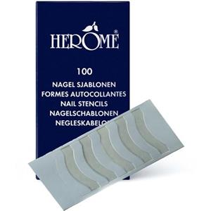 Herôme Nägel Nagel Dekoration Nagel Schablonen 100 Stk.
