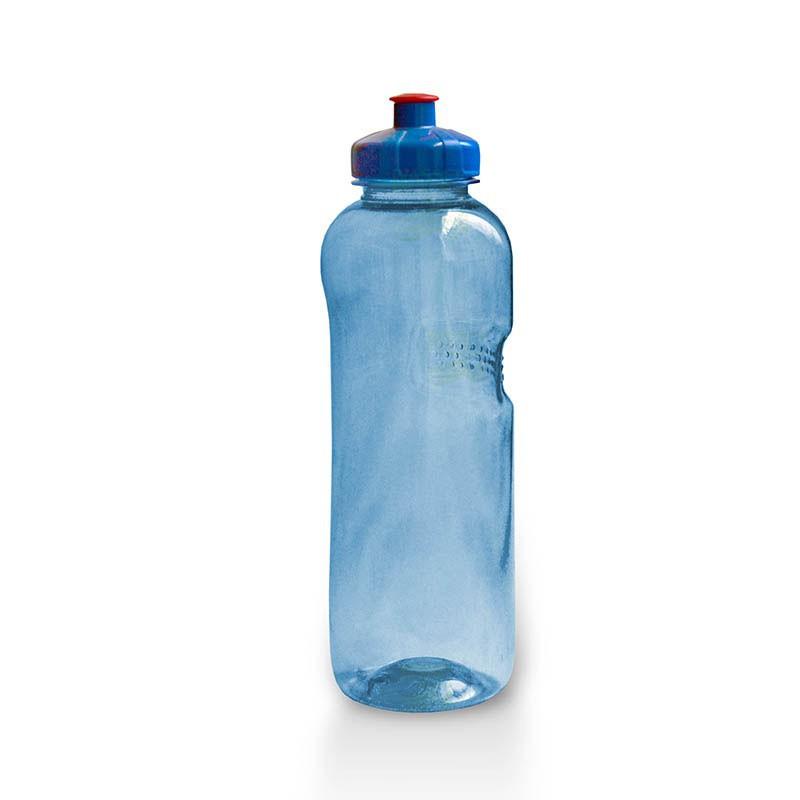 Trinkflasche 1,0 Ltr. mit Push&Pull-Verschluss, frei von Weichmachern und Bisphe