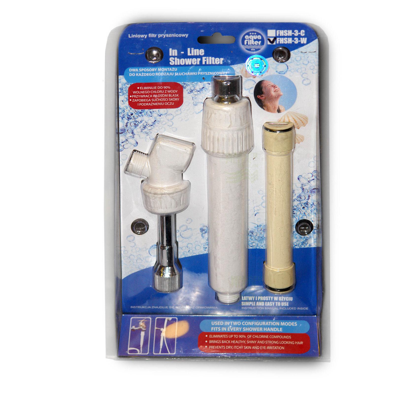 Duschfilter white eingebaut, Wasserfilter zum Wohle Ihrer Haut