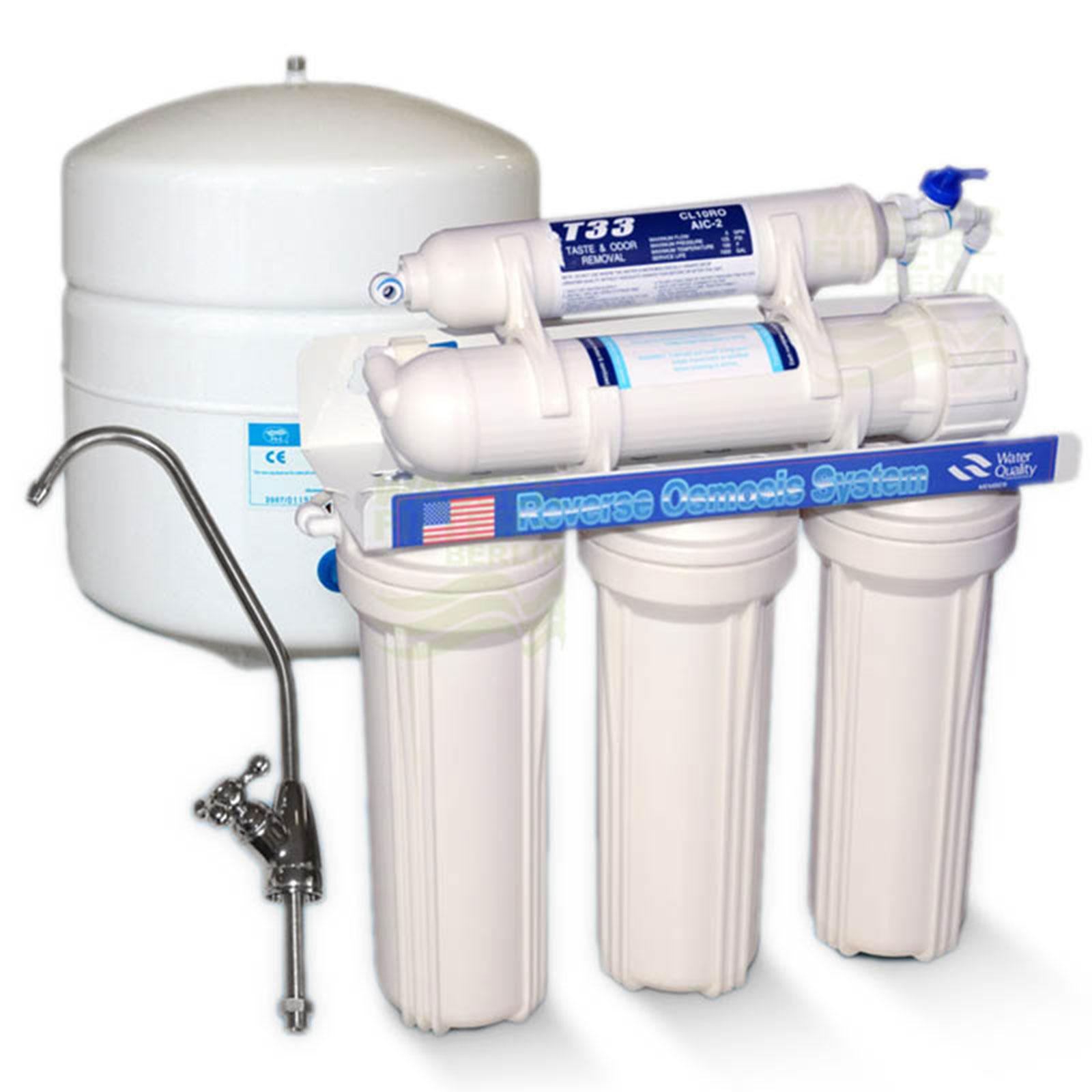 Umkehrosmose System 5-7-stufig 50 GPD