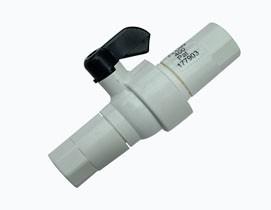 Spülventil mit Durchflussbegrenzer (400 ml)