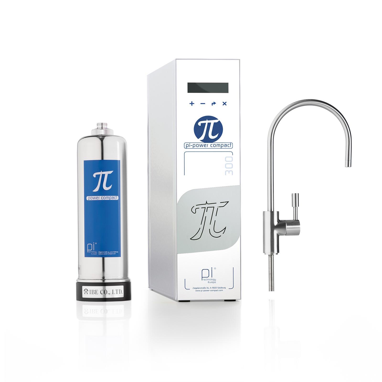 PI®-Power-Compact Standard 300 GPD +Glyphosat-Filterset +UV-LED