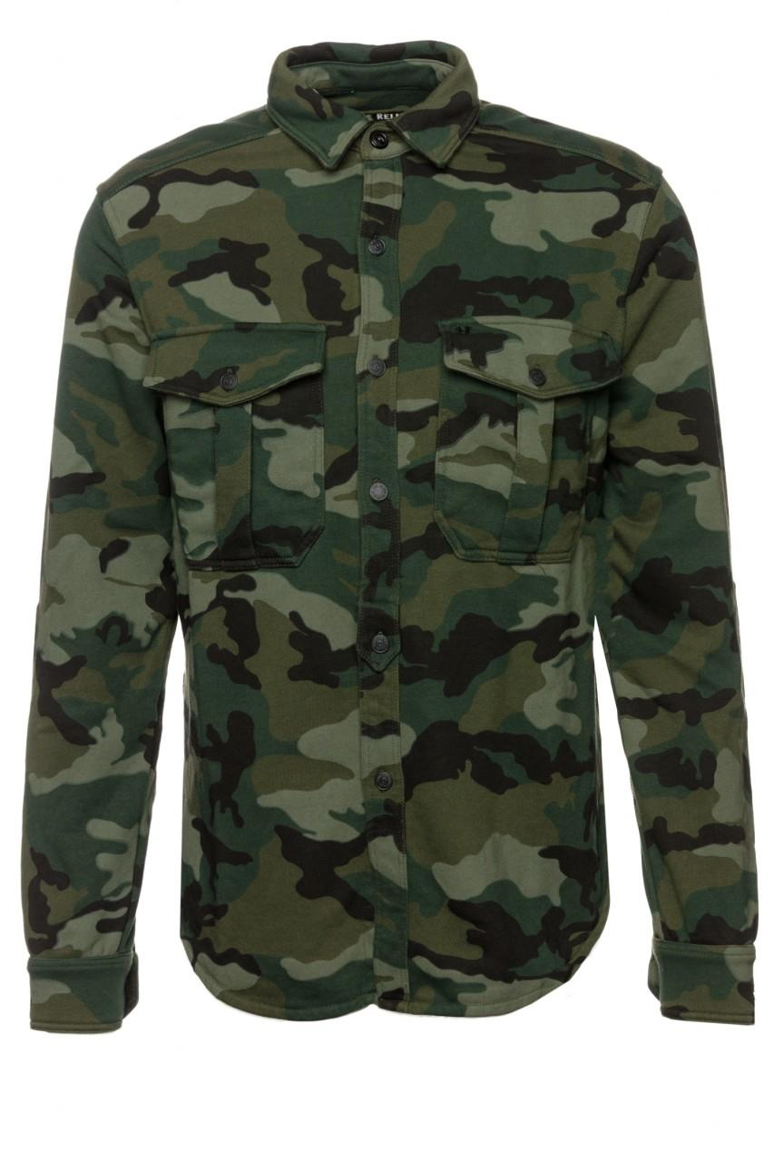 True Religion Hemd Camo