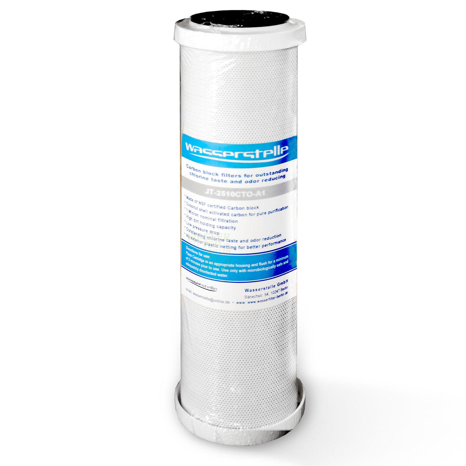 MFP CTO-Aktivkohleblock 1µm, Wasserstelle , 10