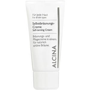 Alcina Kosmetik Alle Hauttypen Selbstbräunungs-Creme 50 ml