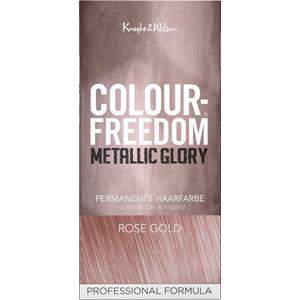 Colour Freedom Haare Haarfarbe Metallic Glory Permanent Hair Colour Metallic Black 1 Stk.