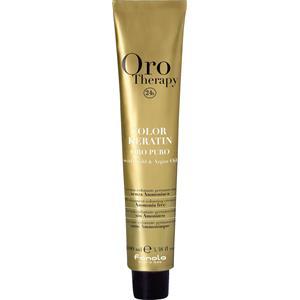 Fanola Farbveränderung Haarfarbe und Haartönung Oro Therapy Oro Puro Color Keratin Red 100 ml
