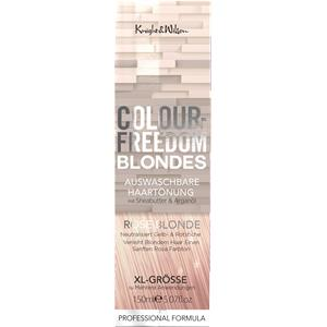 Colour Freedom Haare Haarfarbe Blondes Non-Permanent Hair Toner White Blond 150 ml