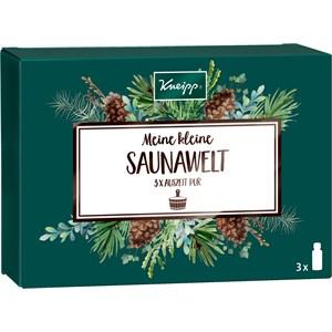 Kneipp Sauna Aufgüsse Meine kleine Saunawelt Geschenkset Aufguss Lebensfreude 20 ml + Aufguss Eukalyptus Birke 20 ml + Aufguss Auszeit Pur 20 ml 1 Stk.