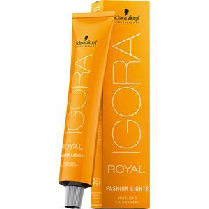 Schwarzkopf Professional Haarfarben Igora Royal Fashion Lights Highlight Color Creme L 00 Natur Extra 60 ml