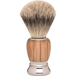 ERBE Shaving Shop Rasierpinsel Premium Milano Rasierpinsel Silberspitz Olivenholz 1 Stk.