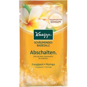 Kneipp Badezusatz Badesalze Schäumendes Badesalz Abschalten 80 g