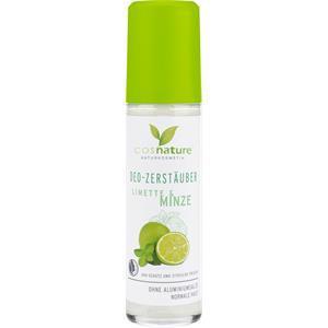 Cosnature Pflege Deodorants Deo-Zerstäuber Limette & Minze 75 ml