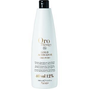 Fanola Farbveränderung Haarfarbe und Haartönung Oro Therapy Oro Puro Gold Activator 12% 150 ml