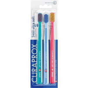 Curaprox Zahnpflege Zahnbürsten Handzahnbürste CS 5460 3-er Set Verschiedene Farben - Auswahl erfolgt zufällig 1 Stk.