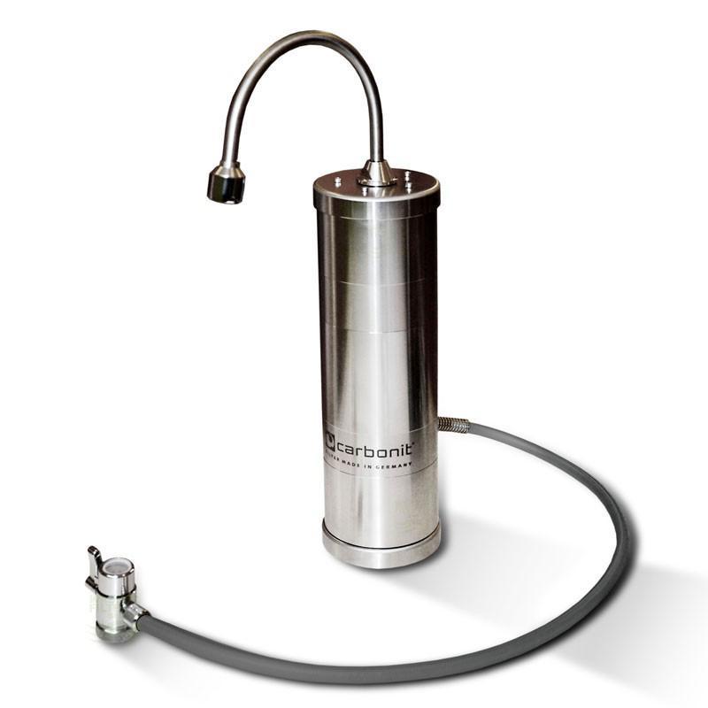 Design Edelstahl Sanuno Inox F Wasserfilter