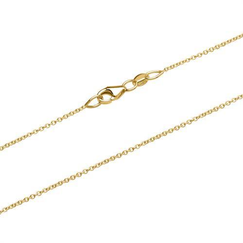 Filigrane Ankerkette aus 585er Gold