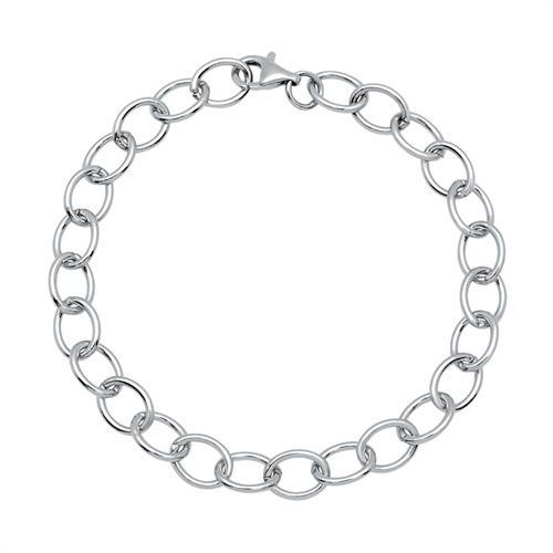 925 Silber Bettelarmband für Charms