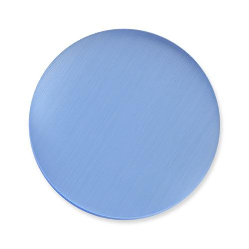 Einsatz Münzanhänger Katzenauge blau