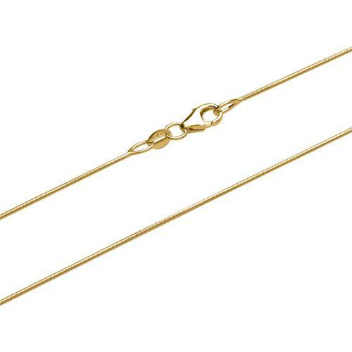 Schlangenkette aus 375er Gold