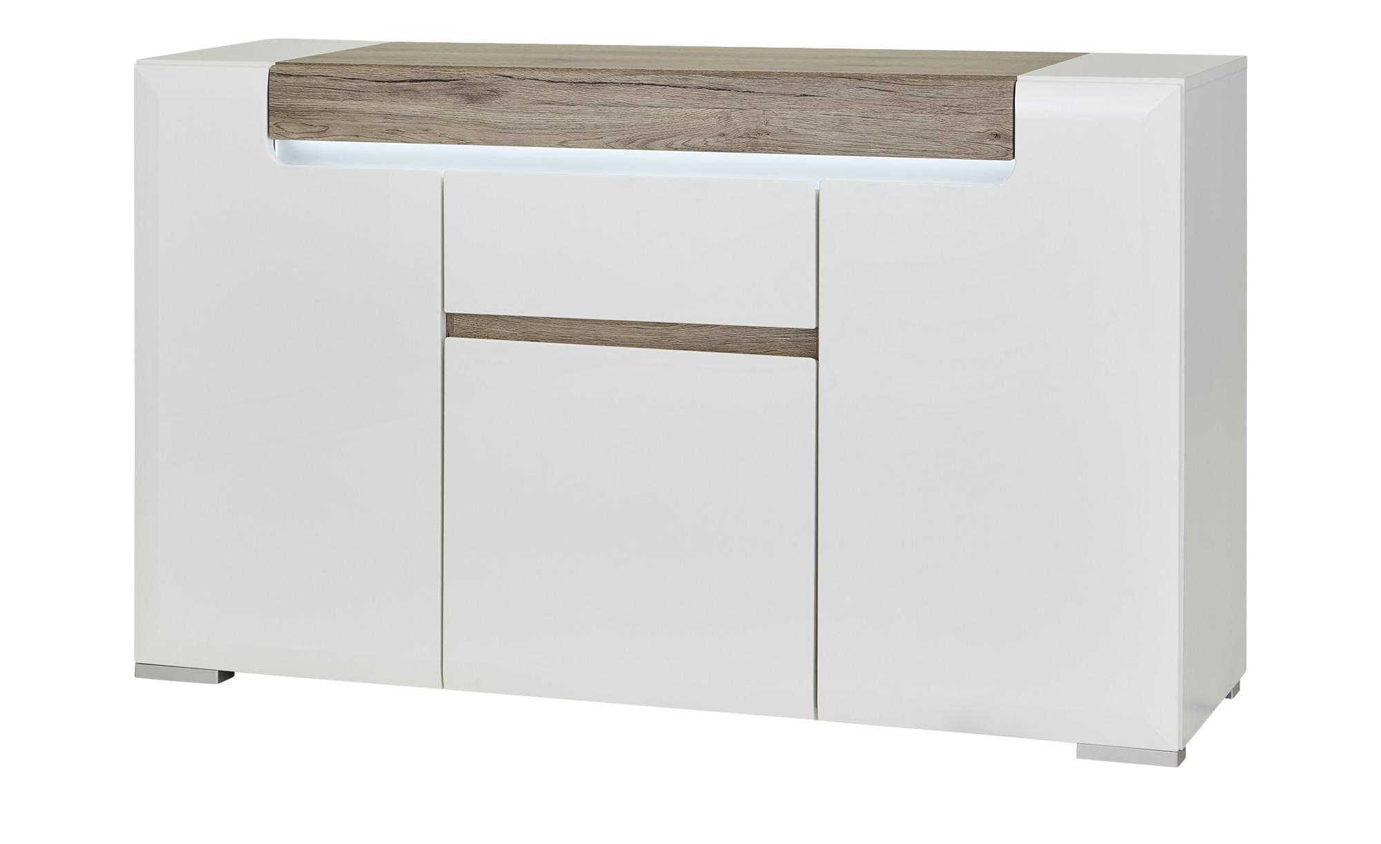 Kommode La Vita - weiß - 140 cm - 84 cm - 42 cm - Sconto
