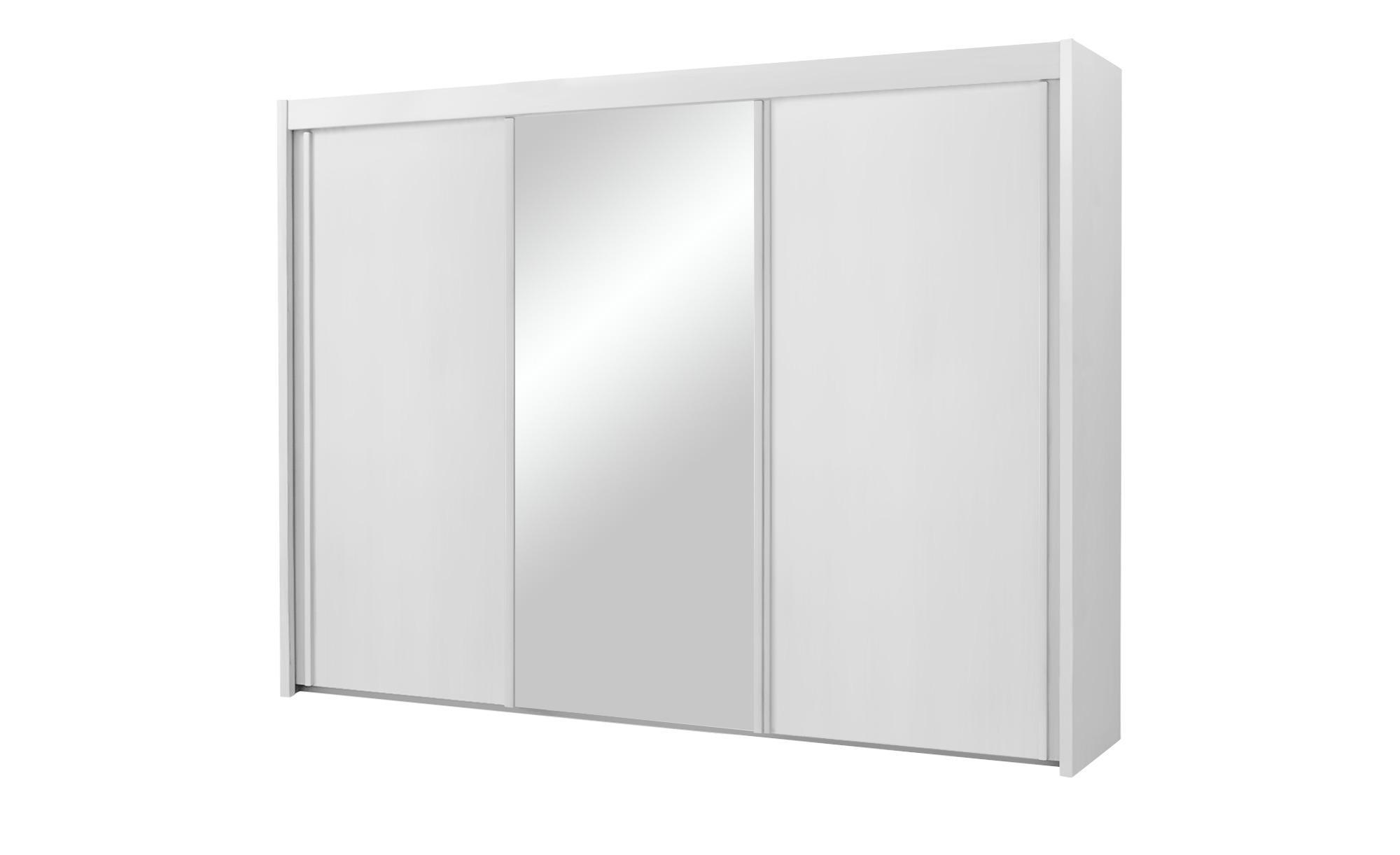 Schwebetürenschrank 3-türig Imperial - weiß - 250 cm - 223 cm - 65 cm - Sconto