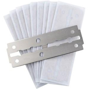 ERBE Shaving Shop Rasiermesser Ersatzklingen 7 cm für Rasiermesser 10 Stk.