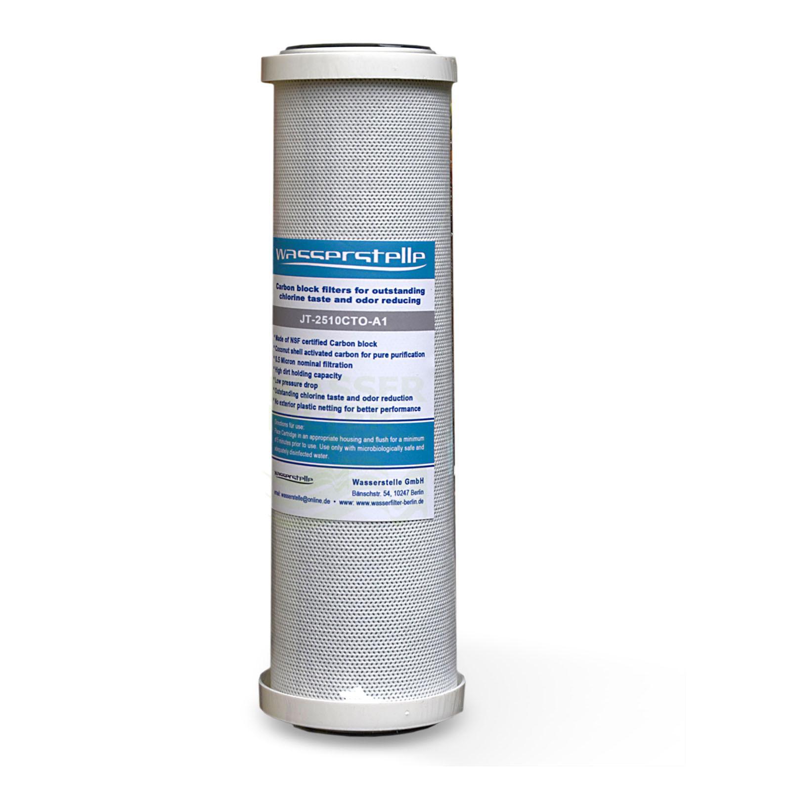 MFP CTO-Aktivkohleblock 0,5 µm, Wasserstelle , 9