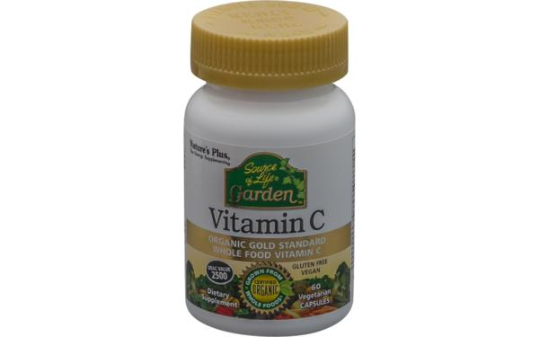 Natures Plus Garden Source of Life® Garden? Vitamin C 60 veg. Kapseln