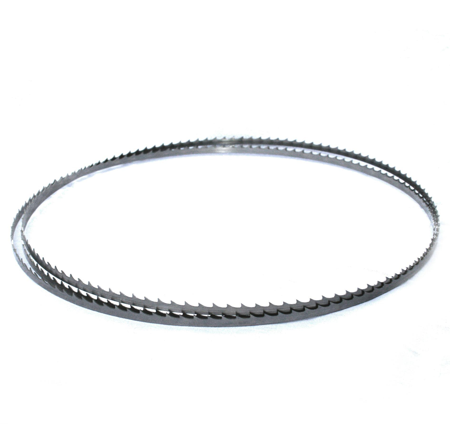 Sägeband 1575 mm von 6-10 mm Breite für Bandsägen (Holz) Sägeband mit 6mm Breite