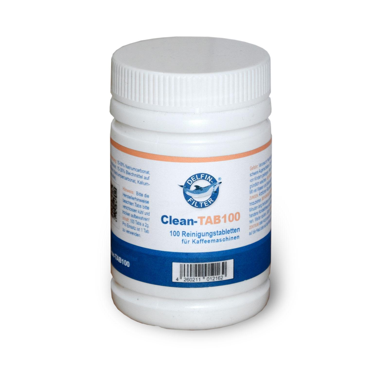 100 Reinigungs Tabletten 2g, kompatibel mit Jura Melitta Siemens Seaco WMF Kaffeemaschinen