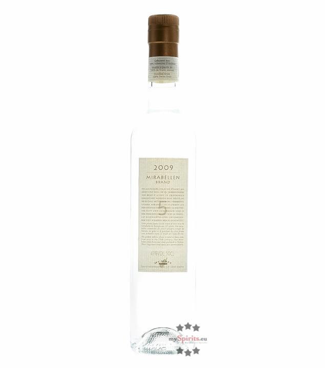 Humbel Mirabellenbrand (43 % vol., 0,5 Liter)
