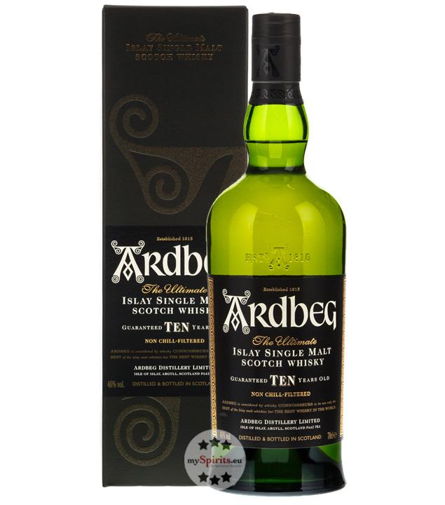 Ardbeg Ten 10 Jahre Whisky 0,7l (46 % Vol., 0,7 Liter)