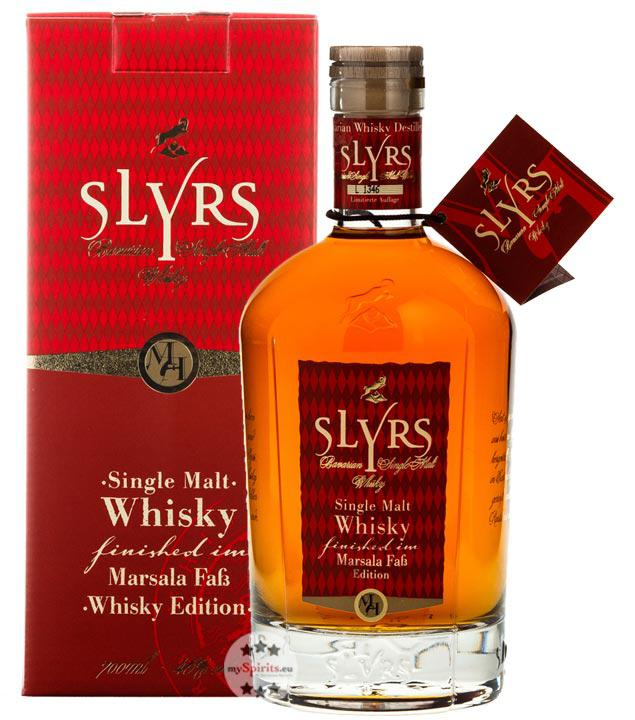 Slyrs Marsala Fass Finish Whisky (46 % vol., 0,7 Liter)