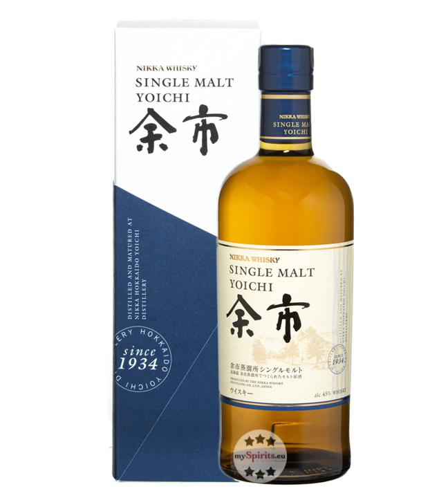 Nikka Yoichi Single Malt Whisky (45 % Vol., 0,7 Liter)