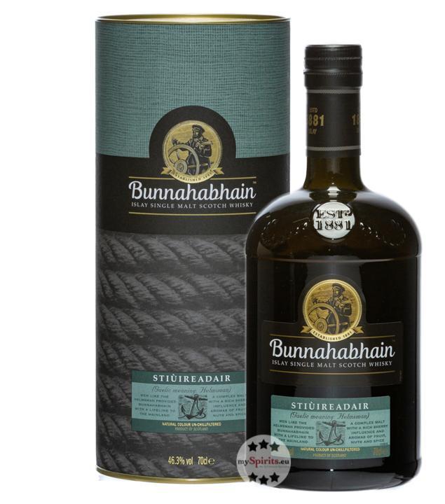 Bunnahabhain Stiùiredair Whisky (46,3 % Vol., 0,7 Liter)
