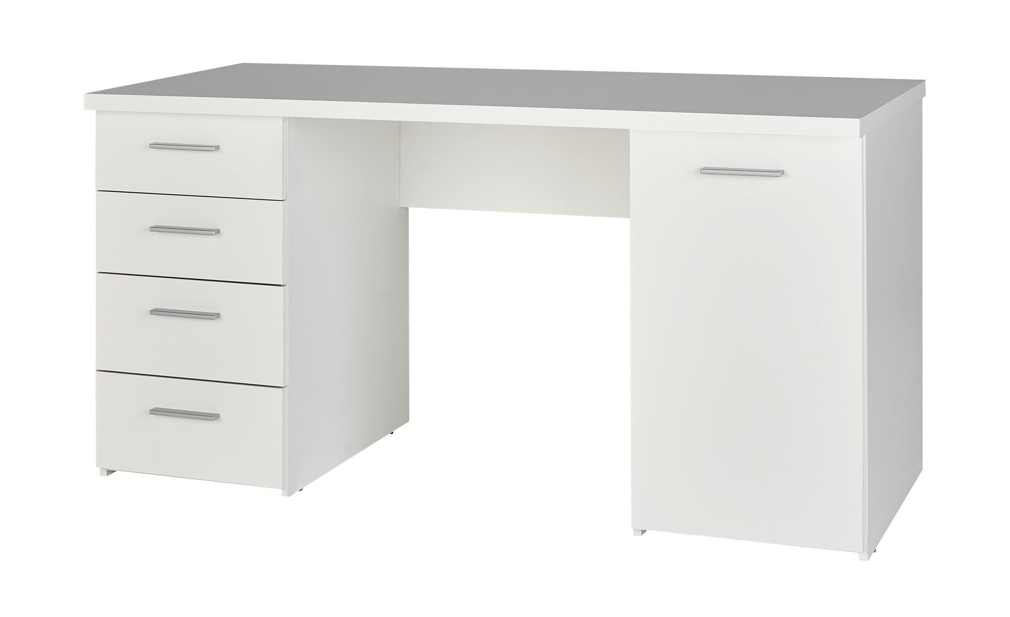 Schreibtisch Nil - weiß - Sconto