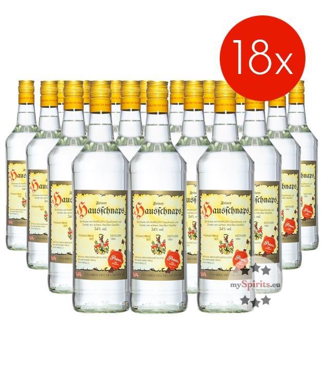 Prinz Hausschnaps / 34% Vol. - 18 Flaschen (34% Vol., 1,0 Liter)