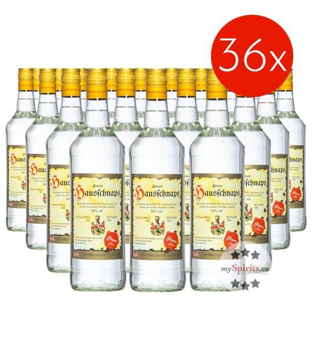Prinz Hausschnaps / 34% Vol. - 36 Flaschen (34% Vol., 1,0 Liter)