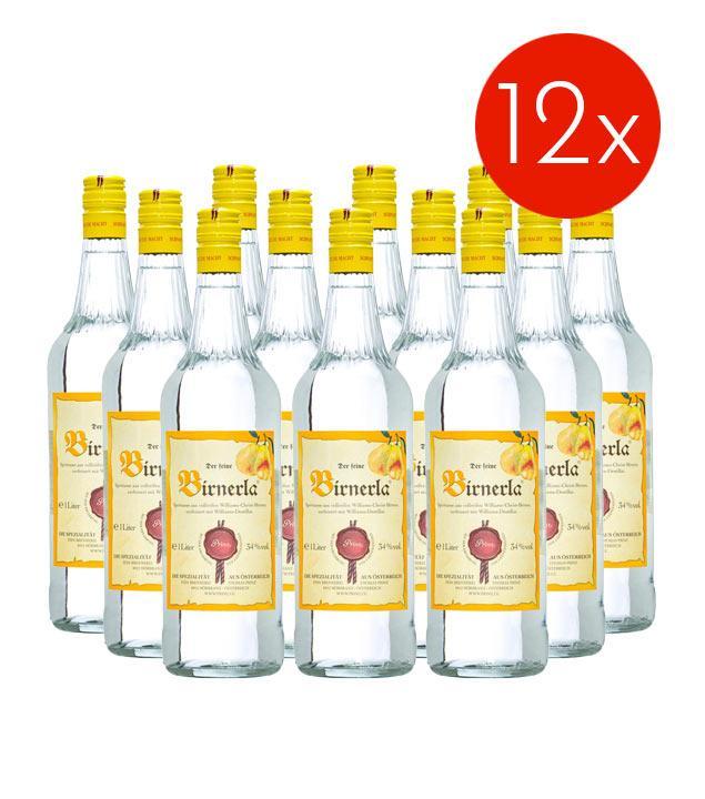 Prinz Birnerla / 34% Vol. - 12 Flaschen (34% Vol., 1,0 Liter)