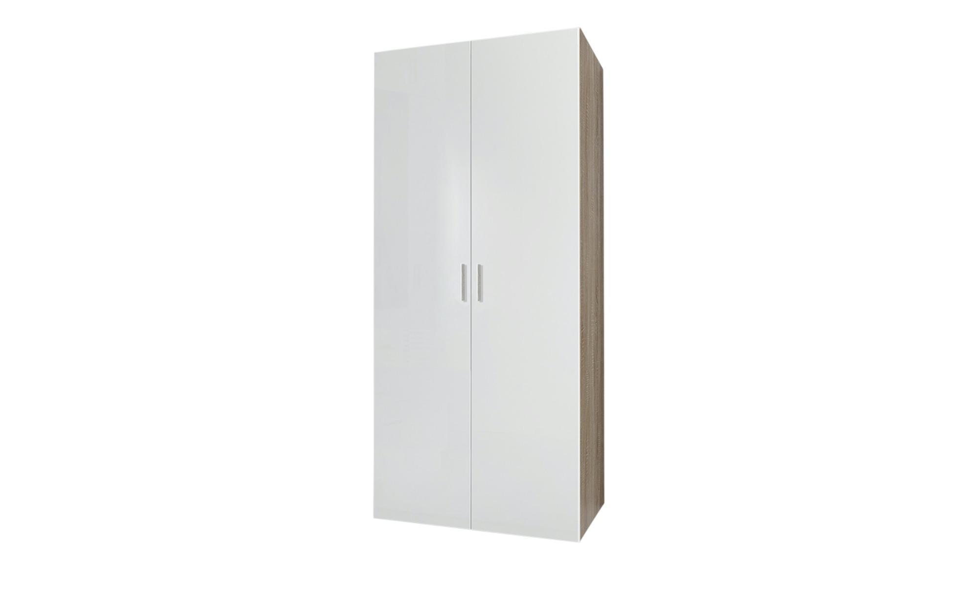 Kleiderschrank Malta - creme - 80 cm - 185 cm - 54 cm - Sconto