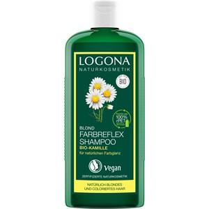 Logona Haarpflege Shampoo Farbreflex Shampoo Blond Bio-Kamille 250 ml