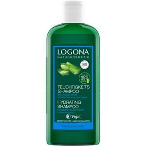Logona Haarpflege Shampoo Feuchtigkeits-Shampoo Bio-Aloe Vera 250 ml