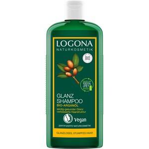 Logona Haarpflege Shampoo Glanz Shampoo Bio-Arganöl 250 ml
