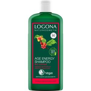 Logona Haarpflege Shampoo Age Energy Shampoo Bio-Coffein 250 ml