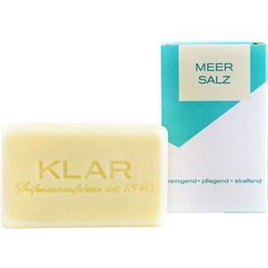 Klar Seifen Pflege Seifen Meersalz Seife 100 g
