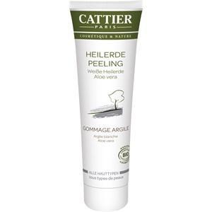 Cattier Reinigung Gesichtsreinigung Weiße Heilerde Peeling für alle Hauttypen 100 ml