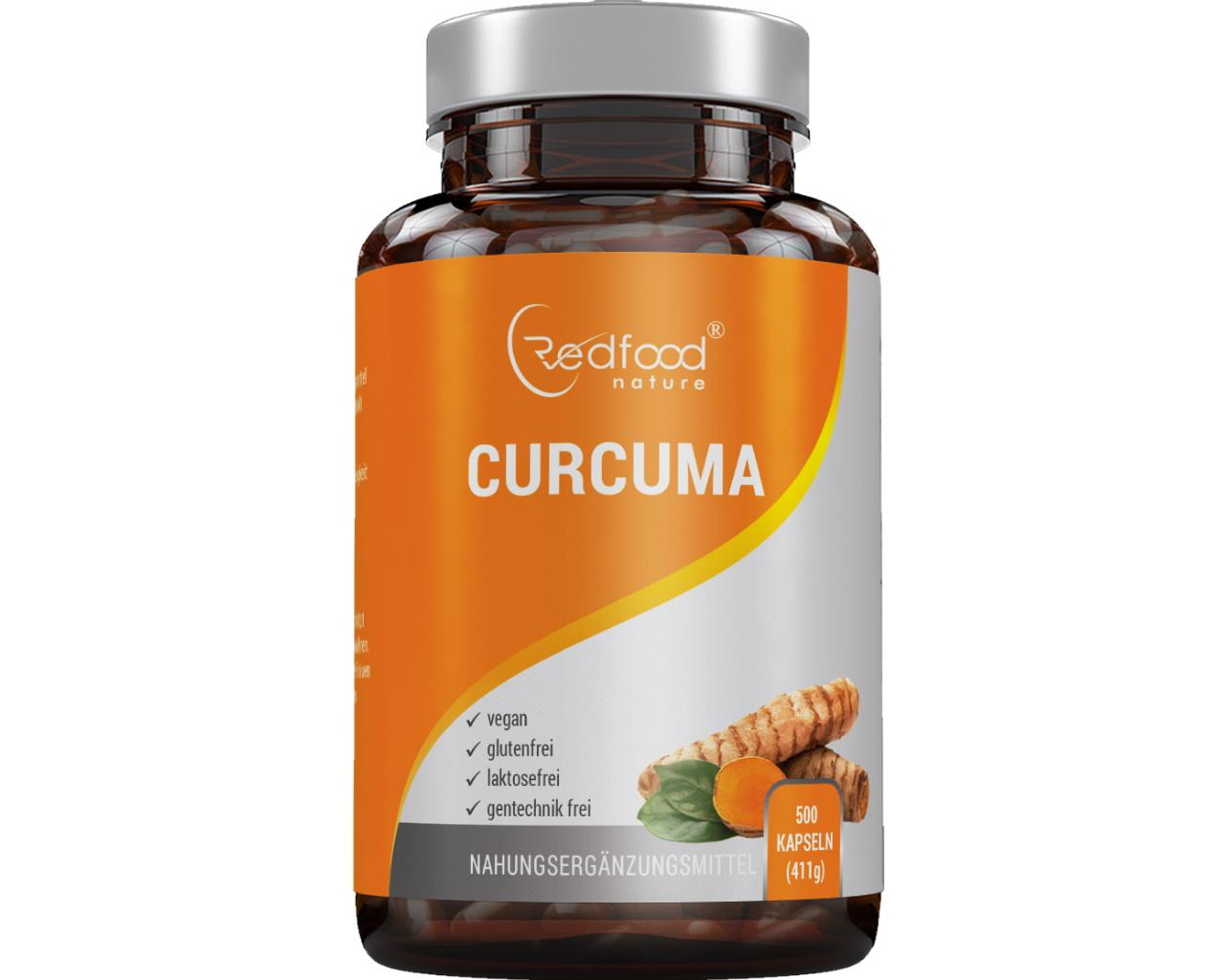 Curcuma 500 Kapseln - Curcumin + Piperin
