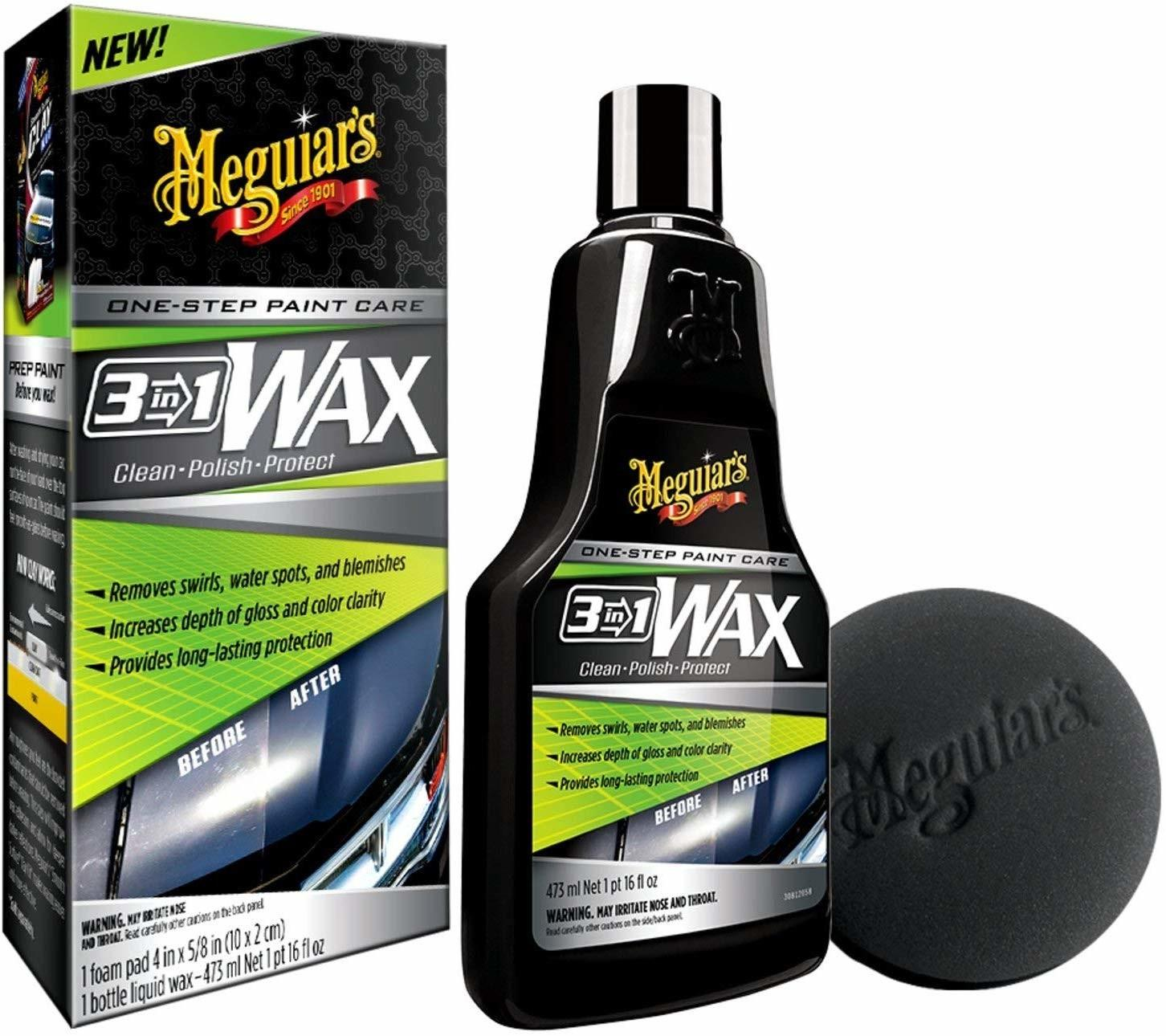 3-in-1 Wax (473 Ml) | Meguiars